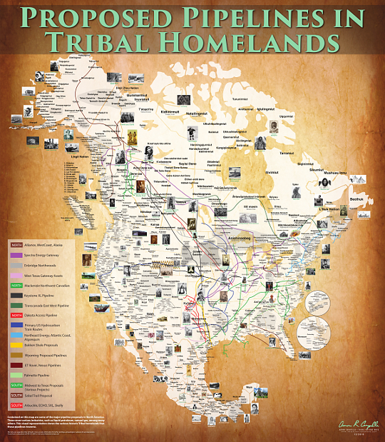 Proposed Pipelines In Tribal Homelands