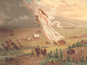 American Progress, 1872, click image to see hi resolution and read about it