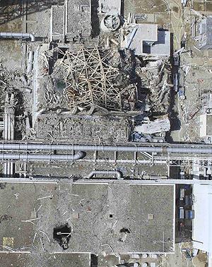 24 Mar 2011; damaged Unit 3 of the crippled Fukushima Dai-ichi nuclear power plant