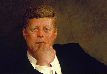 Portrait of John F. Kennedy (1967) by Jamie Wyeth